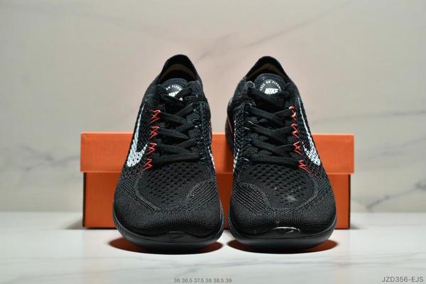 a48b70f56b31c4f3a377224dbfb982f6 - Nike Free Rn Flyknit 赤足飛線編織運動跑步鞋休閒鞋 女鞋 黑橘