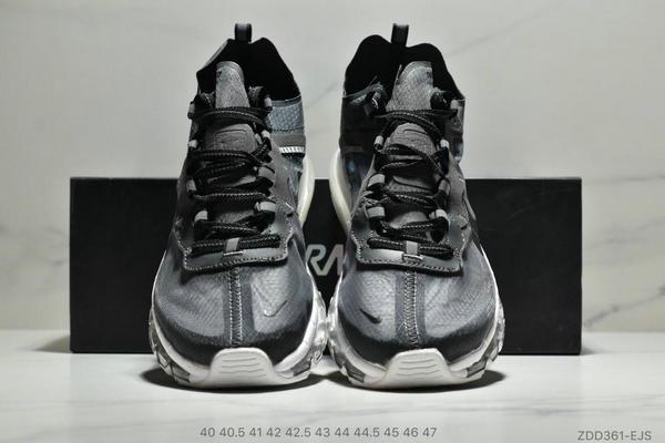 a59f6ad86ac41c63c14c0d4a8883de97 - Nike React Element 87全新演繹注入Max 2019 氣墊 男款 黑白
