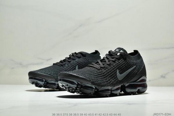 a680ab19eedd16e5158b071e4e29a82b - Nike Air VaporMax Flyknit W 3.0三代大氣墊百搭休閒運動慢跑鞋 情侶款 黑色