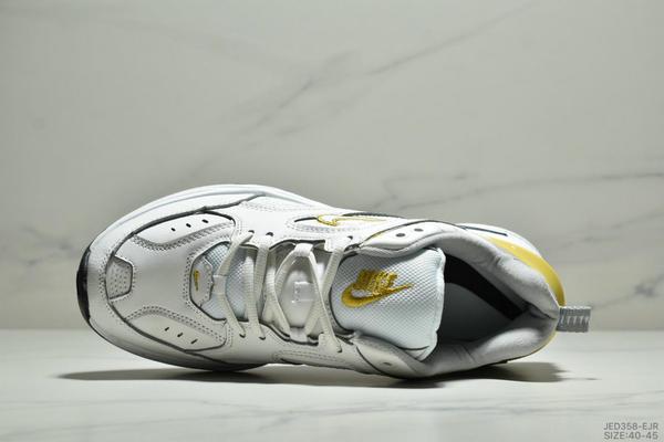 a87a2ca6a74af37506ce93d44902fbfa - NikeM2K Tekno香蕉黃亮彩扎染復古休閒老爹鞋 男款 白黃