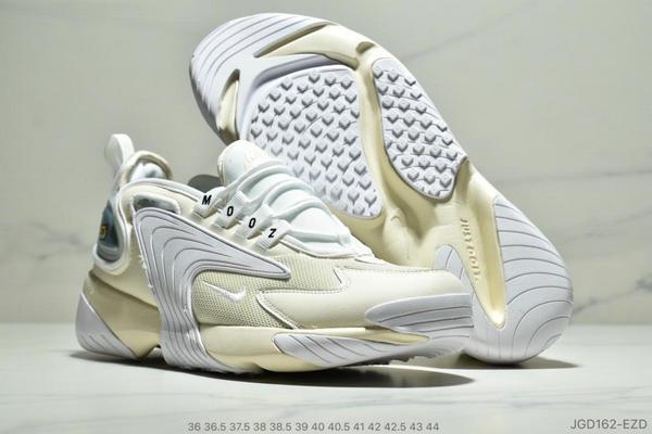 a92e376c50c4edbd2c1eb7b82f01eb08 - Nike Zoom +2K Sneaker White-Black Zoom 2000復古百搭老爹慢跑鞋 如圖