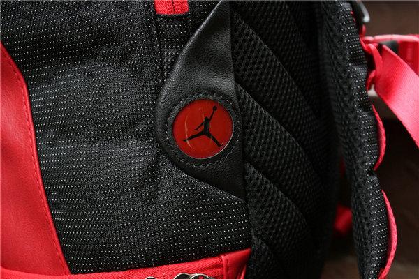 aab6cb408dc2807ab30e84b0e82f5da2 - Nike Air Jordan 同款 純色AJ雙肩揹包 黑紅