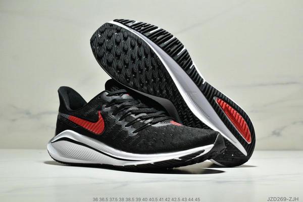 ac7697ed0974a5d70ed56fc3ef71ac1c - Nike Air Zoom Vomero 14代 內建4/3氣墊 馬拉鬆拉線緩震運動跑步鞋 情侶款 黑紅