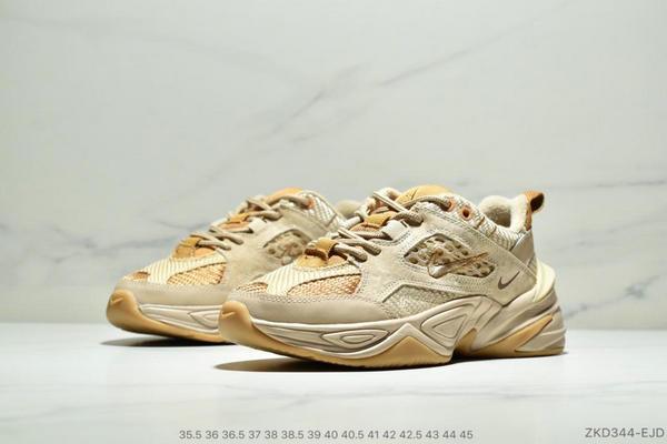 ad403be039c70c8a3146152b9a2848f3 - Nike M2K Tekno SP復古潮流百搭休閒運動旅遊老爹鞋 情侶款 亞麻黃沙棕