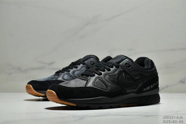 b2f8cc4991061ec8e5297e1985f5eb3e - Nike Air Span II 男子新款復古緩震運動鞋 男款 黑色