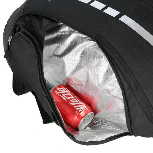 b3535da9c8cfda0fd5ca7a5e29a1ca6f - Nike 跑車設計 流線型大容量雙肩包揹包 運動健身揹包 訓練包 黑白