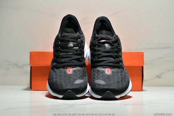 b62514f7873a319f572d38496fdf48e4 - Nike Air Zoom Vomero 14代 內建4/3氣墊 馬拉鬆拉線緩震運動跑步鞋 情侶款 黑紅