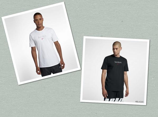 ba7dea771607ec14604025e332cd6806 - Nike 男子短袖印花LOGO圓領針織 運動休閒短袖T恤 白色