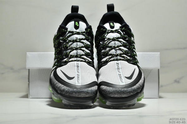 bdfe2d28412eefa285bbe2532e7bd7d6 - Nike Air Vapormax Flyknit 全掌大气垫减震慢跑鞋 男款 白黑