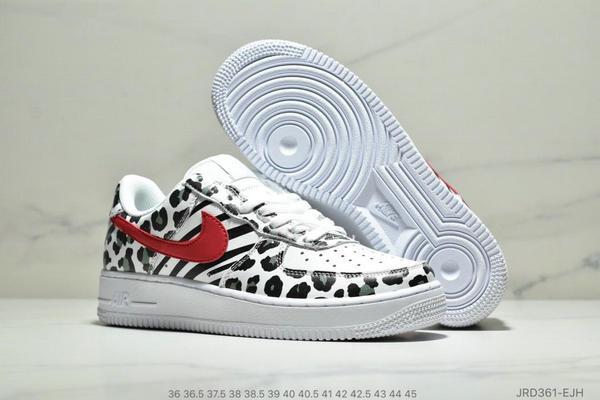 bf0bc3f00d92bae7b2aeed2aa0202666 - Nike WMNS Air Force 1 LX,斑點豹紋元素 情侶款 白黑紅