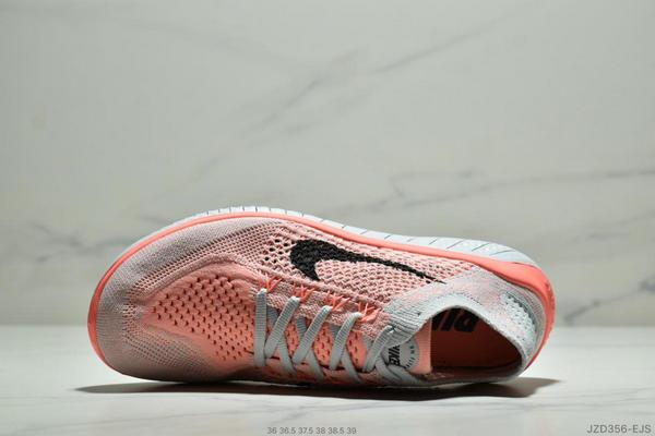 c1846750b0d70dd12e7ae7738eda62cc - Nike Free Rn Flyknit 赤足飛線編織運動跑步鞋休閒鞋 女鞋 粉灰黑