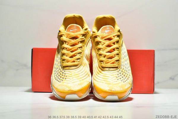 c206df0573251797813f53dcf23ec559 - Nike Air Max99 SUPREME 大氣墊聯名緩震復古跑鞋 情侶款 黃色