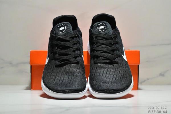c20fd3b8c4ed161f7937132d8f4e7889 - NIKE FREE RN 輕便網面透氣慢跑鞋 男女款 黑白