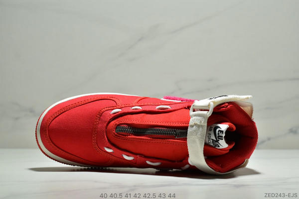 c55f20e578c9777c0235fe2e0ce9558e - E.U. x Nike Air Force1 High情人節AF1冠希 空軍板鞋 男鞋 紅白