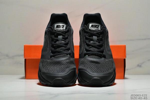 c5b560d53ade3a55c05a3c2548addd06 - NIKE ZOOM VOMERO+8 登月編織飛線運動休閒鞋 男鞋 黑銀