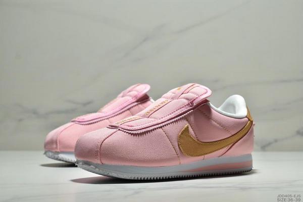 c9598b090dbc6f04a06320d7d631ccc9 - Nike Cortez Kenny IV 110E2022聯名 全新阿甘一腳蹬設計 運動休閒慢跑鞋 女鞋 粉黃