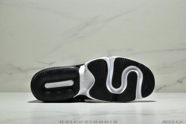 cb8b00fe6f933346b3e06f8dbf6f20a1 - Nike Air Max 春季新款 後置半掌氣墊運動減震跑步鞋 男款 黑白
