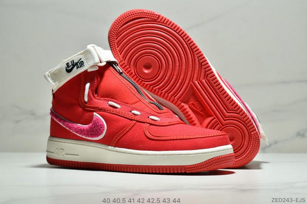 d16263044058eef7e71db61e7830155b - E.U. x Nike Air Force1 High情人節AF1冠希 空軍板鞋 男鞋 紅白