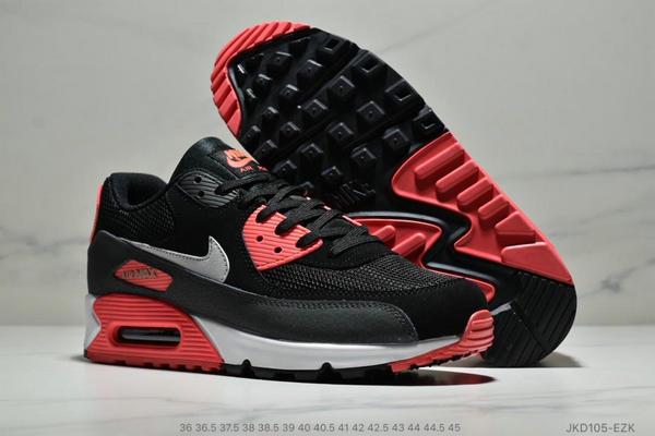 d3a1f0d893e48eba3a977a60de2cd02f - Nike Air Max 90 網面氣墊跑鞋 經典男女鞋 黑紅