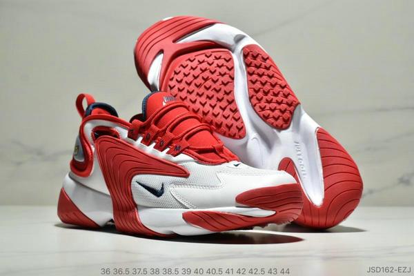 dbba66b148dd4bc41d3918ece63081cf - Nike Zoom +2K Sneaker White/Black Zoom 2000復古百搭老爹慢跑鞋 男女款 白紅黑