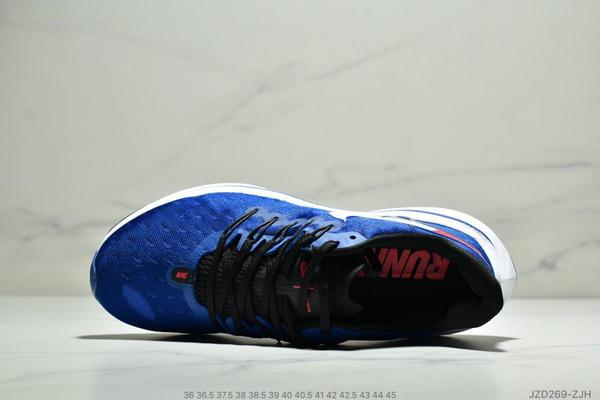 dd2a41b5f89d6259fadbb56cd861af41 - Nike Air Zoom Vomero 14代 內建4/3氣墊 馬拉鬆拉線緩震運動跑步鞋 情侶款 寶藍白黑