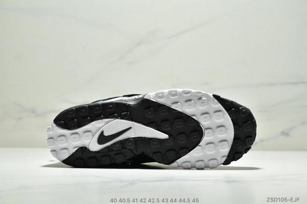 dfddd79c4b9b65b0051810d631b88442 - Nike Sportswear Air Max Speed Turf 加速實驗系列復古氣墊籃球鞋黑白奧利奧 男款 黑白