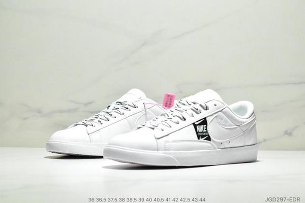 e142698c36c65a182433299371f11565 - Nike Blazer Low SE 開拓者休閒運動板鞋 情侶款 白黑