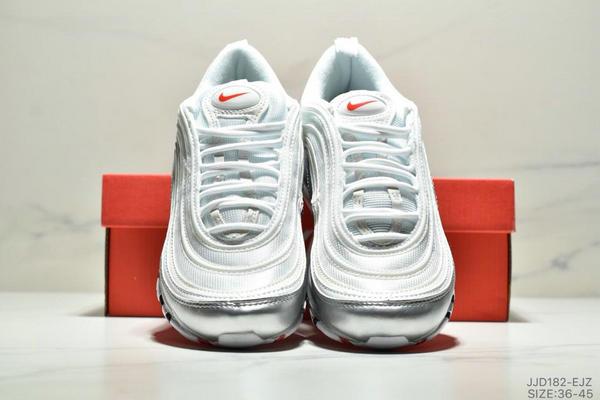 e15cfe51146812857131f167f69b295a - NIKE AIR MAX 97 OG UNDFTD 97復古全掌小氣墊減震跑鞋 情侶款 白銀紅