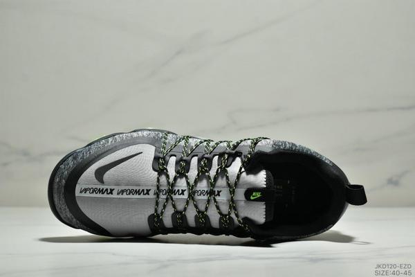 e28f85b7af89498953bb03873b8496ca - Nike Air Vapormax Flyknit 全掌大气垫减震慢跑鞋 男款 白黑