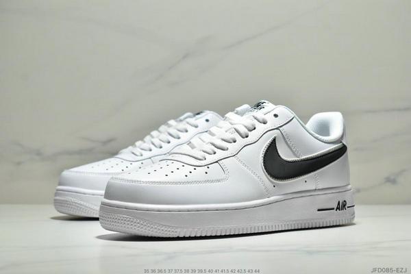 e33d5964c8ecbad8b2269c63ac8e32d6 - Nike Air Force 1 07 空軍一號經典百搭板鞋 白灰 男女款
