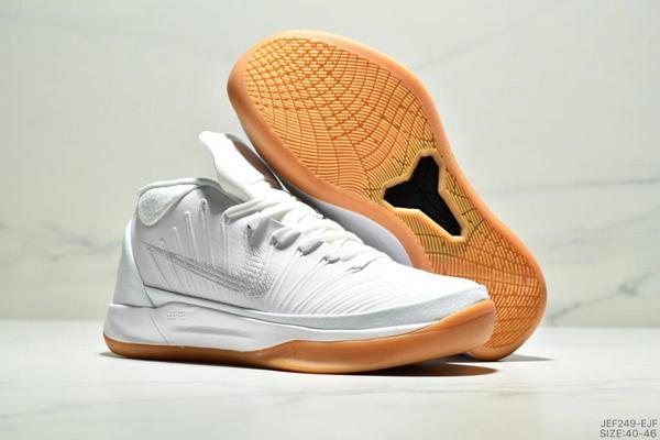 e37ae56651e92b70f2dd48b226aebce6 - NIKE KOBE AD EP科比實戰籃球鞋運動鞋 男款 白色