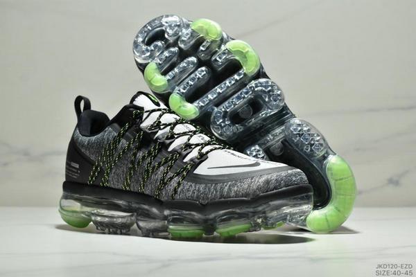 e5f4b994a41594f3a95f92b33761fea3 - Nike Air Vapormax Flyknit 全掌大气垫减震慢跑鞋 男款 白黑
