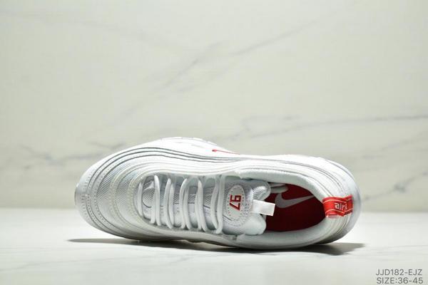 e712d199844ac506b4c4707200764145 - NIKE AIR MAX 97 OG UNDFTD 97復古全掌小氣墊減震跑鞋 情侶款 白紅