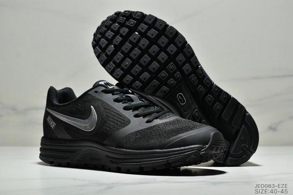 e79667876277d615ab107266a197f54e - NIKE ZOOM VOMERO+8 登月編織飛線運動休閒鞋 男鞋 黑銀
