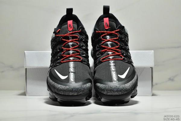 e9aefda92221a6d7c5bdc6e516c1365a - Nike Air Vapormax Flyknit 全掌大气垫减震慢跑鞋 男款 黑白紅
