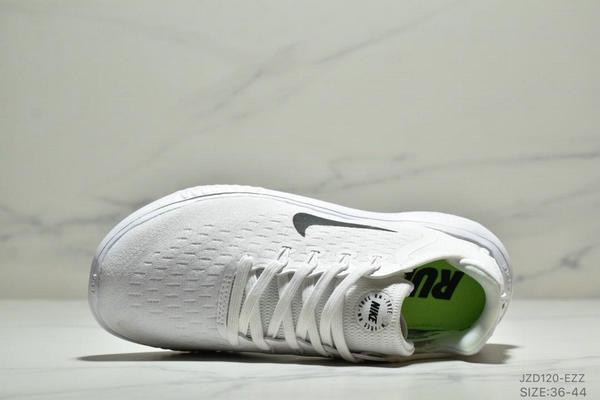 e9f4df1af29929295ec50447b23a216d - NIKE FREE RN 輕便網面透氣慢跑鞋 男女款 白黑