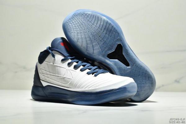 ecb3eaeb8c7d66b2107faaf66ae6e3c3 - NIKE KOBE AD EP科比實戰籃球鞋運動鞋 男款 白深藍紅
