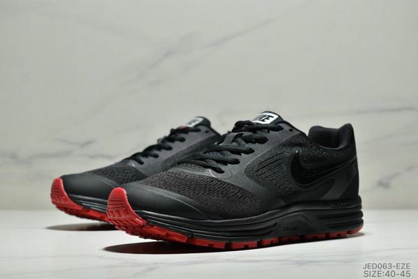 ee12ad9eb54db299da6fb9d1cc24ada8 - NIKE ZOOM VOMERO+8 登月編織飛線運動休閒鞋 男鞋 黑紅