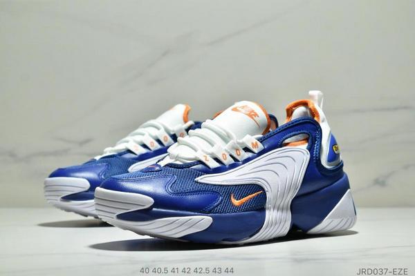 ee1df7d35cddd8ccbb544ddc81540e9e - Nike Zoom +2K Sneaker White/Black Zoom 2000復古百搭老爹慢跑鞋 男款 白寶藍黃