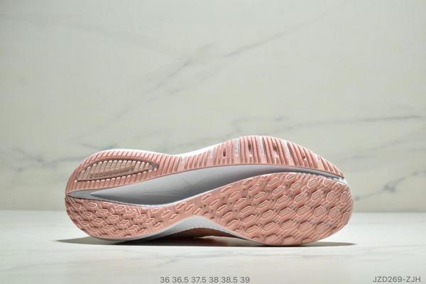 ef24a2875190797f69b7d2bb4ec1da08 - Nike Air Zoom Vomero 14代 內建4/3氣墊 馬拉鬆拉線緩震運動跑步鞋 女款 粉白