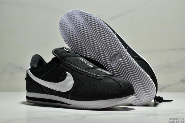 f1b365ab5d89027eb92acc9b45d78d96 - Nike Cortez Kenny IV 110E2022聯名 全新阿甘一腳蹬設計 運動休閒慢跑鞋 男女鞋 黑白