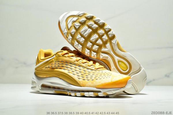 f991c19bfd93fd7b49977097d34dfda8 - Nike Air Max99 SUPREME 大氣墊聯名緩震復古跑鞋 情侶款 黃色