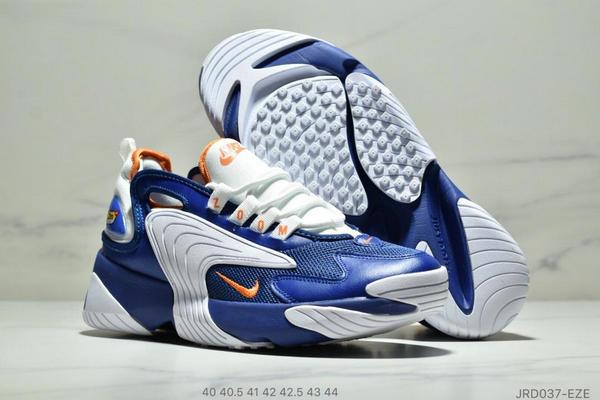 fb6a85c1d500c547fb672a592f858a72 - Nike Zoom +2K Sneaker White/Black Zoom 2000復古百搭老爹慢跑鞋 男款 白寶藍黃