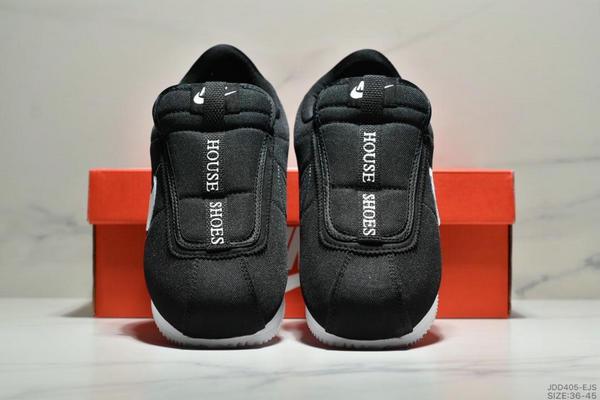 fbcb87e9689dd27a97b1a6ee6bd0292f - Nike Cortez Kenny IV 110E2022聯名 全新阿甘一腳蹬設計 運動休閒慢跑鞋 男女鞋 黑白