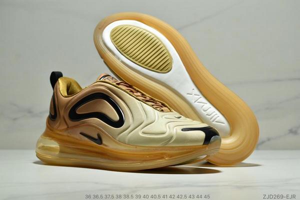 fd8253f79c2a58c4e5a3f3a0dc489ea6 - Nike Air 720太空大氣墊前衛運動慢跑鞋 情侶款 黃黑