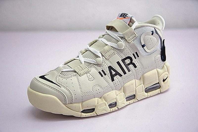 53b1bf8321950fff8884f31169473955 - Off-White x Nike Air More UptempoOW奶油黃白黑橘 情侶鞋 902290-012-