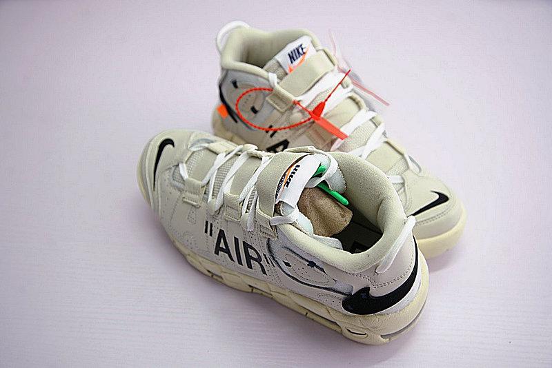f5b730e3decf6275816af50ef0bfca3f - Off-White x Nike Air More UptempoOW奶油黃白黑橘 情侶鞋 902290-012-