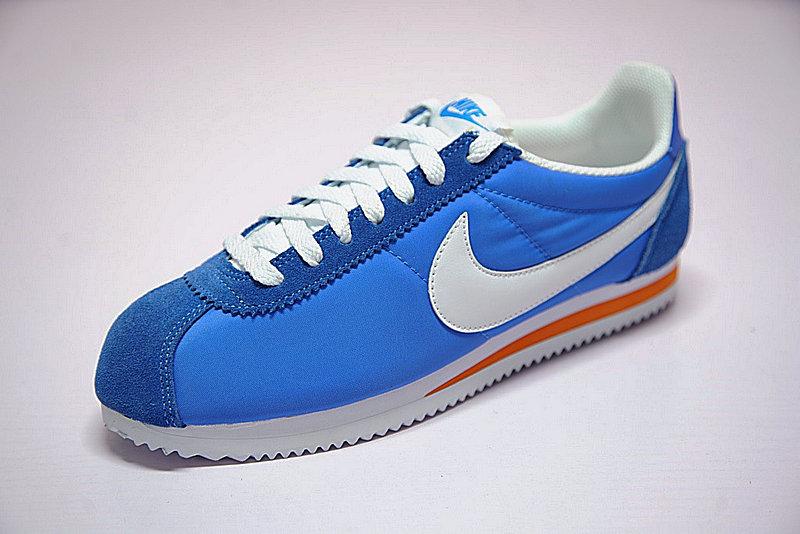 01f366b0f234c04315adce563ab36486 - 情侶鞋 Nike Classic Cortez 經典 復古 藍白 桔紅 488291-404-