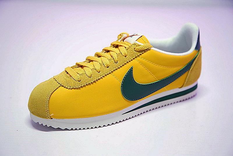 0818f5afee40daab6767084dcbd5339b - 情侶鞋 Nike Classic Cortez 阿甘 百搭 黃綠 876873-700