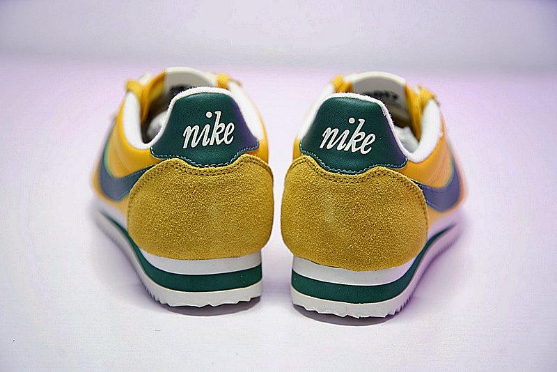 184f4d461a7b1a33081cc2a35ecef910 - 情侶鞋 Nike Classic Cortez 阿甘 百搭 黃綠 876873-700